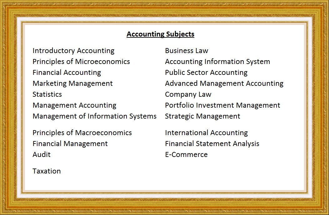 accounting thesis Accounting is quite a broad discipline to be more specific, accounting can generally be classified into financial accounting, management accounting, behavioral.